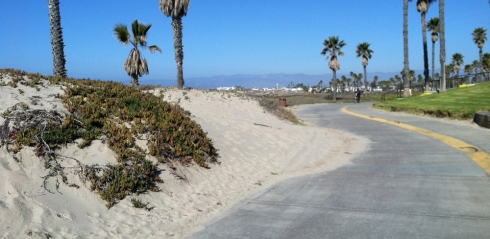 This Oxnard beach park is about a 30 minute ride from the office (there are closer beaches though).