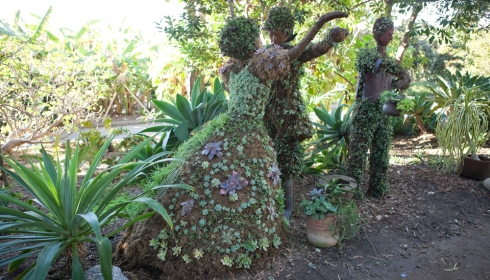 San Diego Botanical Gardens Topiary