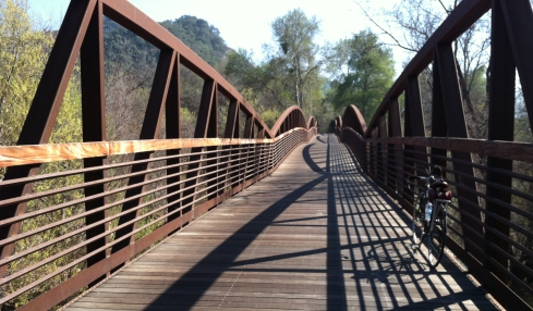 Bike Bridge along the way to Ojai.