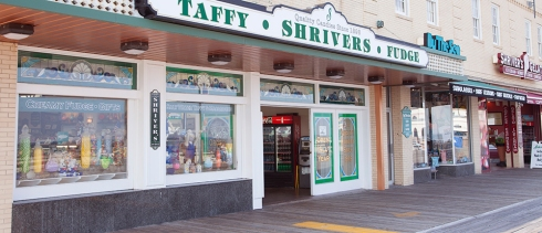 The quintessential candy shop at any given Jersey shore boardwalk.